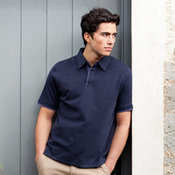 Super soft touch jersey polo shirt