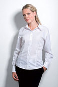 Business Blouse Long Sleeve Womens