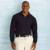 Ultra cotton long sleeve polo