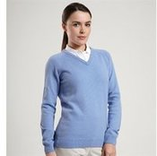 Brunton Lambswool V-neck Sweater