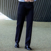 Men's Delta Single Pleat Trouser (The Concept Collection)
